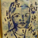 Жена в дъжа