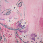 Цветопад в розово